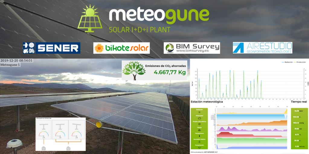 METEOGUNE - SOLAR I+D+i Plant